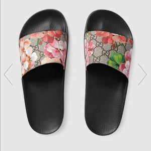 6bae3a3536ae Women s Gucci Bloom Slides on Poshmark